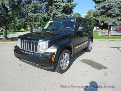 Jeep Liberty 4WD 4dr Limited 4WD 4dr Limited SUV Automatic Gasoline V6 Cyl Brilliant Black Crystal