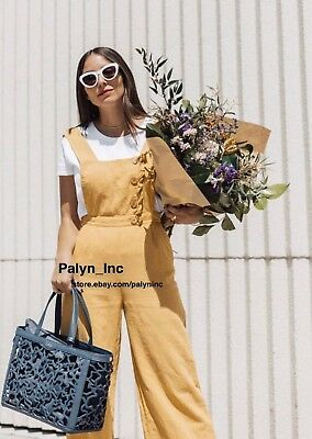 9e825e4ac94 ... Dungarees Overalls Jumpsuit Arty Lagenlook XS 6 8.