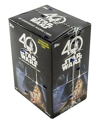11 x different Star Wars trading card boxes. Factory Sealed. Brand New. Auto's!