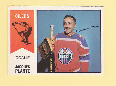 1974-75 O-Pee-Chee WHA #64 Jacques Plant- Excellent Condition
