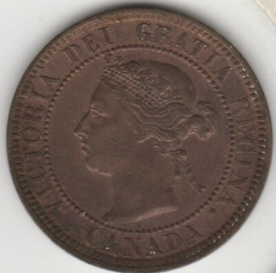 1884 Canada Large Cent