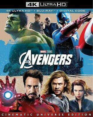 Marvel's The Avengers [New 4K UHD Blu-ray] With Blu-Ray, 4K Mastering, Ac-3/Do
