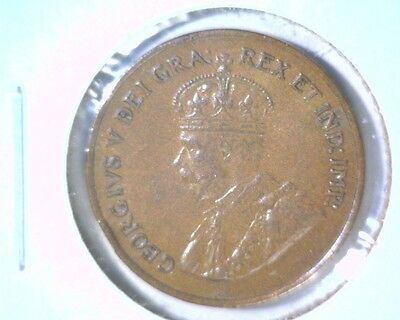 1926 Canada Uncirculated Cent Coin KM#28  Geo. V