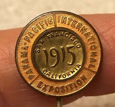 Vintage 1915 Panama Pacific International Exposition Stick Pin-San Francisco