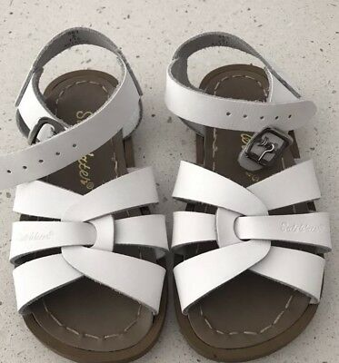 Saltwater Classic Sandals White - Little Kid Size 8