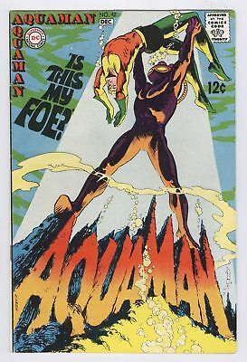 Aquaman Comic #42 (1968) FN+ Early BLACK MANTA Appearance Classic Cover DC