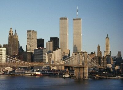 """-$ALE- 38""""x26""""  World Trade Center  -  Large Picture on Canvas"""