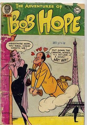 Adventures of Bob Hope #19 VG- Fitzgerald, Kitty Karr of Hollywood