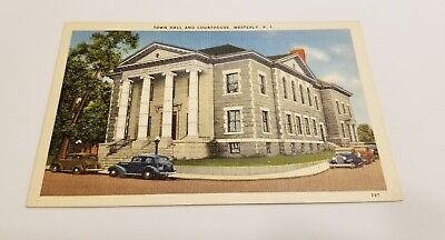 Linen View - Town Hall & Courthouse - Westerly, Rhode Island