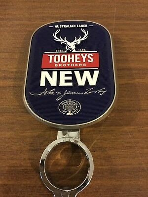 Beer Tap Badge Advertisement Double Sided Solid Metal tooheys new