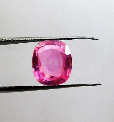 13.00Cts. Natural Oval  Translucent Pink Untreated Loose Kunzite Gemstone 8874