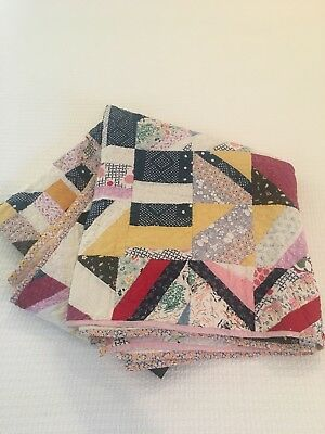 Antique Vintage Quilt. Early 20th Century