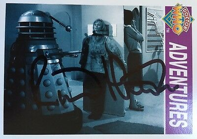 Dr Doctor Who Cornerstone Trading Card Signed by Richard Martin - Autograph