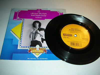 Patti Smith Group - Because The Night / Gloria...in Picture Sleeve