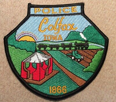 IA Colfax Iowa Police Patch