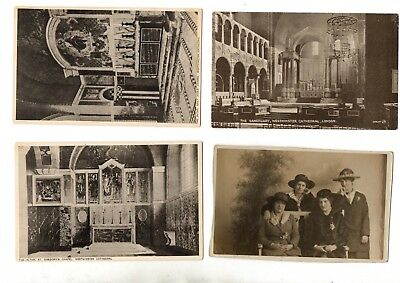 Various Unchecked Vintage Postcards X20 From Collection F2