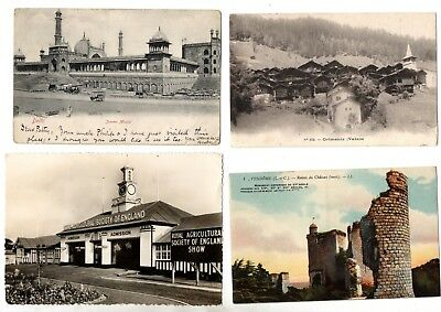 Various Unchecked Vintage Postcards X20 From Collection F3