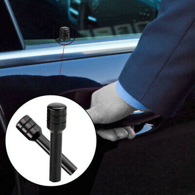 2pcs/set Aluminum Black Car Truck Interior Door Lock Knob Pull Pin Black