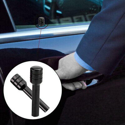 2x Aluminum Alloy Car Truck Interior Door Lock Knob Pull Pin Black Universal