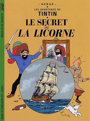 Tintin Le Secret De La Licorne - Dvd Neuf Sous Cello