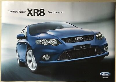 Ford Falcon FG XR8 Showroom Poster See also Brochure listed