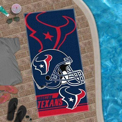"Houston Texans The Northwest Company 28"" X 58"" Beach Towel"