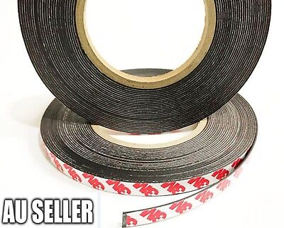 1M/3M/5M/10M Width Strong Magnetic Magnet Self Adhesive Roll Tape Rubber Strip