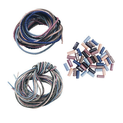 Rubber Band Cord End Tube Beads for Elastics Hair Bands Ponytail Holders DIY