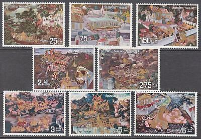 Thailand 1973 Mural Painting 1st Series POSTFRESH Mint Never Hinged Superb A+A+
