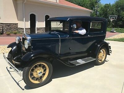 1930 Ford Model A  1930 Model A Tudor Coupe. Very Clean! $15,000 In Receipts! Frame on Resto! WOW