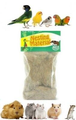 Small Caged Bird Small Animal Nesting Bedding Material Budgie Finch Hamster Rat
