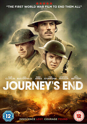 Journey's End DVD (2018) Sam Claflin, Dibb (DIR) cert 12 FREE Shipping, Save £s
