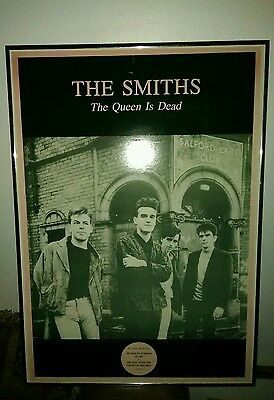 Rare The Smiths Promotional Poster For The Queen Is Dead Rock Band USA