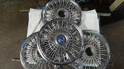 Vintage Hubcaps 15 inch - Buick/Chevy/Cadillac/Pontiac/Ect