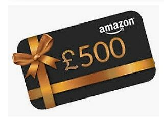 £500 Amazon Gift Card - 1 Day Auction - Free Delivery