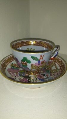 Antique Herend coffe cup  and saucer