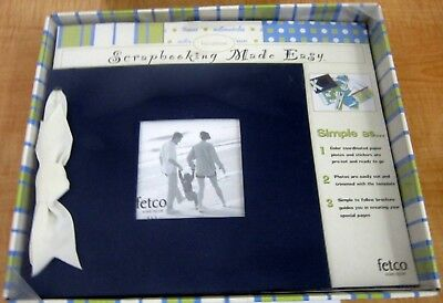 Vacation Kit Album Scrapbooking Made Easy By Fetco Home Decor