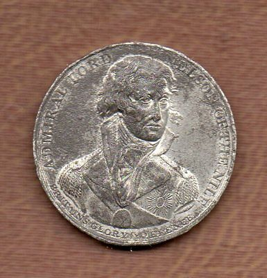 LORD NELSON OF THE NILE French Fleet Defeated ORIGINAL 1798 SO-CALLED DOLLAR