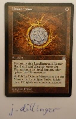 Mox Diamond Stronghold deutsch Diamantmox excellent