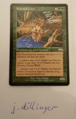 Stachelweber Magic the Gathering Exodus Excellent