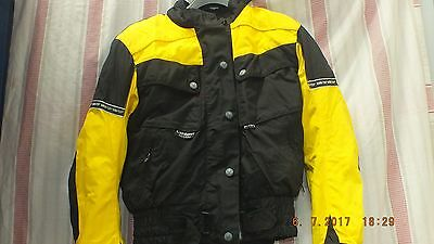 frank thomas  goretex motorcycle jacket , removable thermal liner  ladies small
