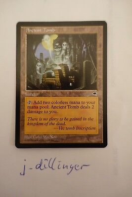 Grab der Ahnen/ Ancient Tomb Magic the Gathering Tempest near mint