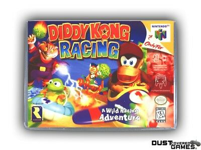 Diddy Kong Racing N64 Nintendo 64 Game Case Box Cover Brand New Pro Quality!!!