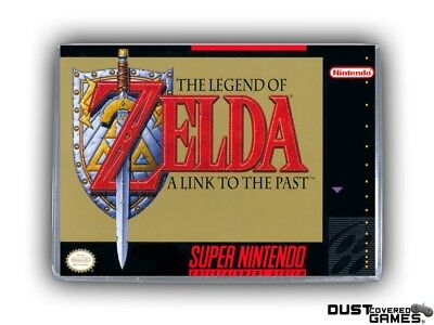 The Legend of Zelda: A Link to the Past SNES Super Nintendo Game Case Box Cover!