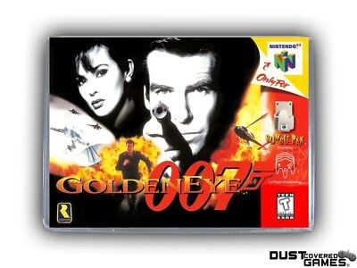 GoldenEye 007 N64 Nintendo 64 Game Case Box Cover Brand New Professional Quality