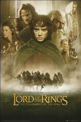 Poster - Lord Of The Rings - Fellowship Of The Ring 1 Sheet (poster Maxi 61x91,