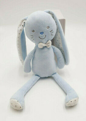 Doudou Mickey Disney Nicotoy plat bleu turquoise rond cube ABCD rayure gris