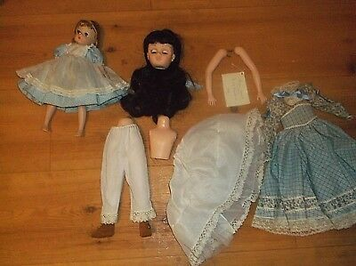 Alexander dolls Lissy Amy (1960), 16-in Beth (1997) AS IS PARTS need restringing
