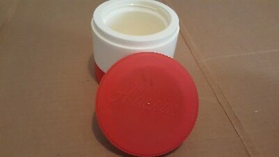 Vintage Aladdin Thermos red and cream smaller size