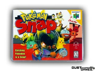 Pokemon Snap N64 Nintendo 64 Game Case Box Cover Brand New Professional Quality!